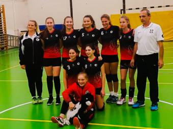 U15A röpis lányok a bajnokságban- OGYB II. osztály